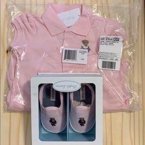 Ralph Lauren dress and sneakers